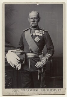 Frederick Sleigh Roberts, 1st Earl Roberts, by Alexander Bassano, 1891-1892 - NPG x39342 - © National Portrait Gallery, London