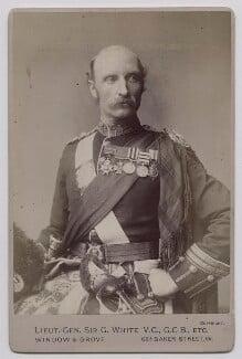 Sir George Stuart White, by Window & Grove - NPG x39346