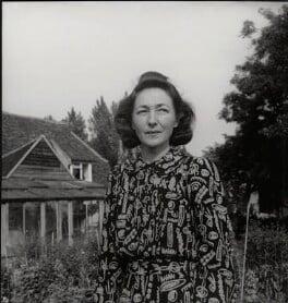 Irina Anatolia Moore (née Radetzki), by Francis Goodman - NPG x39497