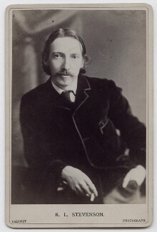 Robert Louis Stevenson, by James Notman - NPG x39714