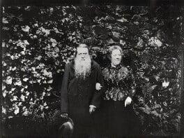 John Ruskin; Joan Severn (née Agnew), by John McClelland - NPG x39720