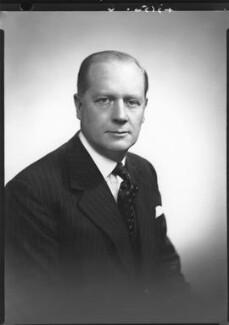 Henry Alexander Benson, Baron Benson, by Lenare - NPG x3983