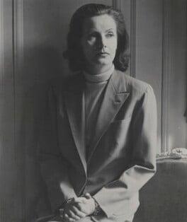 Greta Garbo, by Cecil Beaton - NPG x40107