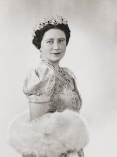 Queen Elizabeth, the Queen Mother, by Dorothy Wilding - NPG x34042