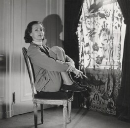 Greta Garbo, by Cecil Beaton - NPG x40115