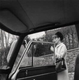 Melchior Gaston ('Mel') Ferrer; Audrey Hepburn, by Cecil Beaton - NPG x40184