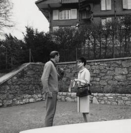Melchior Gaston ('Mel') Ferrer; Audrey Hepburn, by Cecil Beaton - NPG x40186
