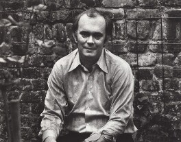 Sir Alan Ayckbourn, by Nicholas Elder - NPG x4043