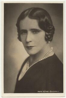 Elinor Glyn, by Dr Székely,  - NPG x4074 - © National Portrait Gallery, London
