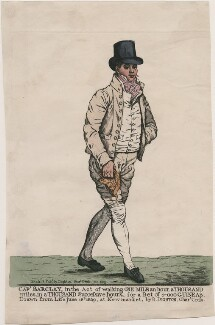 Robert Barclay Allardice, by and published by Robert Dighton, published June 1809 - NPG  - © National Portrait Gallery, London