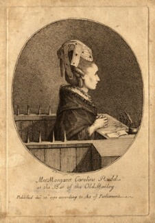 Margaret Caroline Rudd (née Youngson), by Gaetano Stefano Bartolozzi - NPG D10728