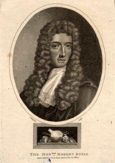 Robert Boyle, by John Chapman, after  Johann Kerseboom, published 1800 - NPG D10729 - © National Portrait Gallery, London