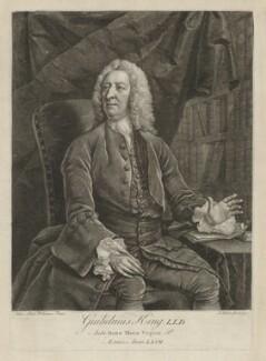 William King, by John Faber Jr, after  John Michael Williams - NPG D10732