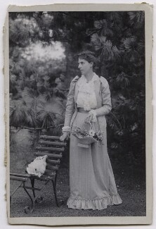Theresa Cripps (née Potter), by Unknown photographer - NPG x4172