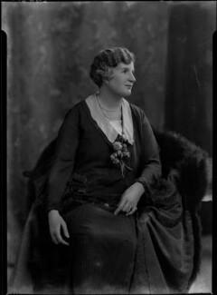 Clara Denman (née Jopp), Lady Cheatle, by Lafayette - NPG x41728