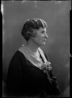 Clara Denman (née Jopp), Lady Cheatle, by Lafayette - NPG x41729