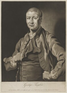 George Taylor, sold by Andrew Miller, circa 1738-1739 - NPG D10734 - © National Portrait Gallery, London