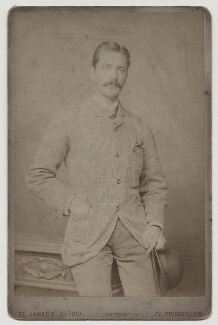 William Terriss (William Charles James Lewin), by Alexander Bassano, published by  St James's Photographic Co - NPG x4176