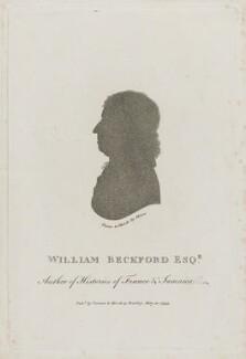 William Beckford, published by Vernor & Hood, after  John Miers - NPG D10736