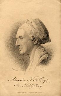 Alexander Knox, by Henry Adlard, after  Sir Francis Leggatt Chantrey - NPG D10739