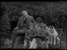 Eila Carey (née Reynolds); Gordon Vero Carey; Hugh Francis Gordon Carey; Ronald Clive Adrian Carey, by Lafayette - NPG x41867