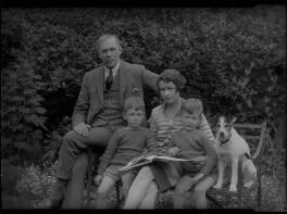 Eila Carey (née Reynolds); Gordon Vero Carey; Hugh Francis Gordon Carey; Ronald Clive Adrian Carey, by Lafayette - NPG x41869