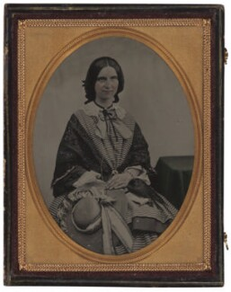 Mary Vaughan Harke (née Steains), by Unknown photographer - NPG x4187