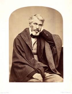 Thomas Carlyle, by Elliott & Fry - NPG x5660