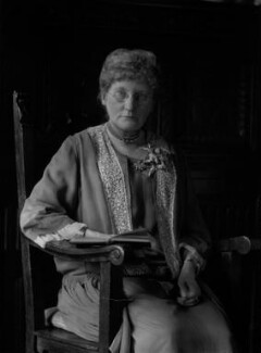 Amy Amphlett George (née Charlton), by Lafayette - NPG x42045