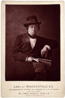 Benjamin Disraeli, Earl of Beaconsfield, by (Cornelius) Jabez Hughes, 22 July 1878 - NPG  - © National Portrait Gallery, London