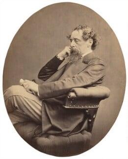 Charles Dickens, by John & Charles Watkins - NPG x14339
