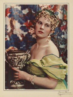 Lady Alexandra Henrietta Louisa Haig as Circe, by Madame Yevonde - NPG x32991