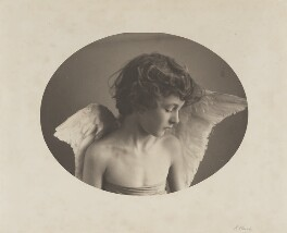 Leopold Hamilton Myers as 'The Compassionate Cherub', by Eveleen Myers (née Tennant), 1880s - NPG  - © National Portrait Gallery, London