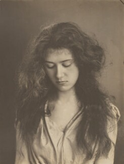 Adelaide Augusta Floyd Passingham, by Eveleen Myers (née Tennant), early 1890s - NPG Ax36315 - © National Portrait Gallery, London