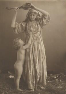 Harold Hawthorn Myers; Georgina, by Eveleen Myers (née Tennant) - NPG Ax36336
