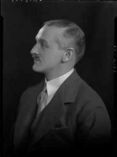 Henry Ashley-Scarlett, by Lafayette (Lafayette Ltd), 22 May 1928 - NPG x42505 - © National Portrait Gallery, London