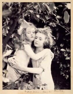 'Pre-Raphaelite phantasme. Adam & Eve!' (Silvia Constance Myers; Leopold Hamilton Myers), by Eveleen Myers (née Tennant), circa 1890 - NPG  - © National Portrait Gallery, London