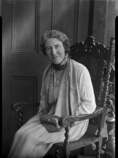 Helen Lucia Mary Goodrich (née Pixell), by Lafayette - NPG x42714