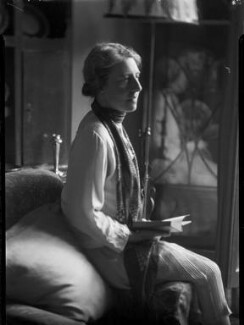 Helen Lucia Mary Goodrich (née Pixell), by Lafayette - NPG x42715