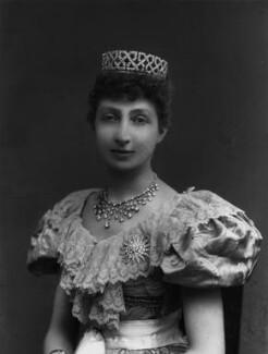 Agnes Chichester (née Christie), Lady Dixon-Hartland, by Alexander Bassano - NPG x428