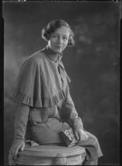 Margaret Irwin, by Lafayette - NPG x42839