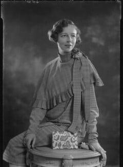 Margaret Irwin, by Lafayette - NPG x42841