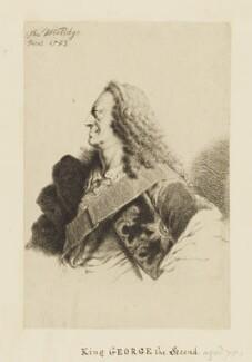 King George II, by Thomas Worlidge, 1753 - NPG D10757 - © National Portrait Gallery, London