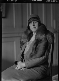 Florence Margaret Carey (née Stock), by Lafayette - NPG x42887