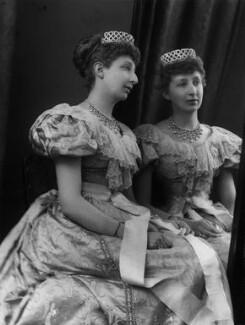 Agnes Chichester (née Christie), Lady Dixon-Hartland, by Alexander Bassano - NPG x429
