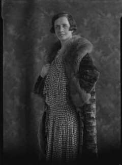 Gabrielle M. Vassal (née Candler), by Lafayette - NPG x42992