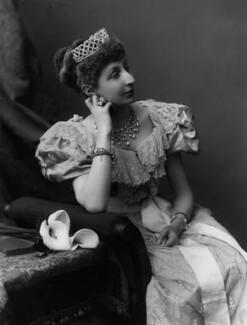 Agnes Chichester (née Christie), Lady Dixon-Hartland, by Alexander Bassano - NPG x430