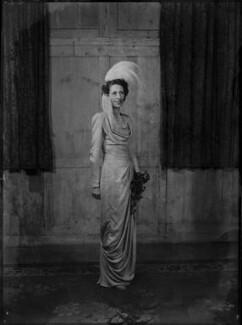 Margaret Elizabeth (née Robertson), Lady Silsoe, by Bassano Ltd - NPG x43049