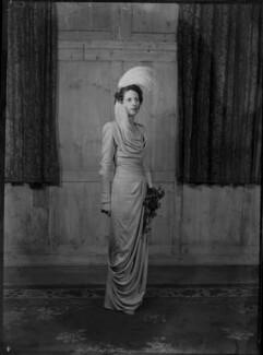 Margaret Elizabeth (née Robertson), Lady Silsoe, by Bassano Ltd - NPG x43050