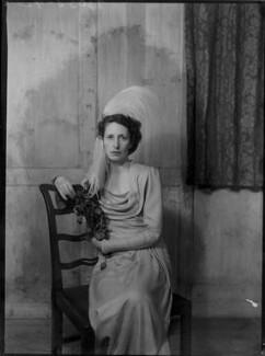 Margaret Elizabeth (née Robertson), Lady Silsoe, by Bassano Ltd - NPG x43051